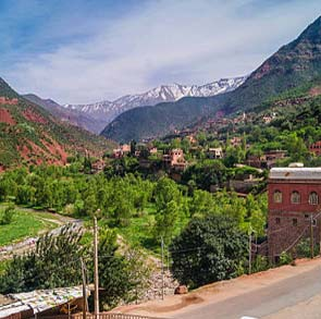 Day Trip from Marrakech to the Atlas Mountains